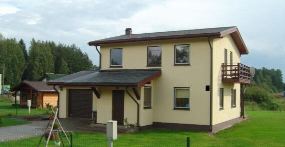 Māju būvniecības cenas