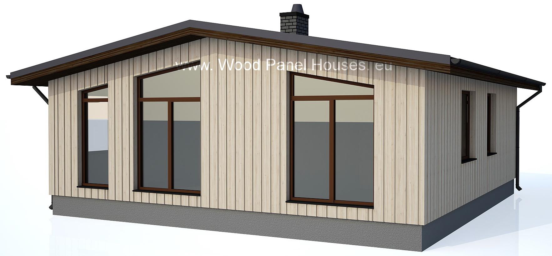 Koka paneļu mājas