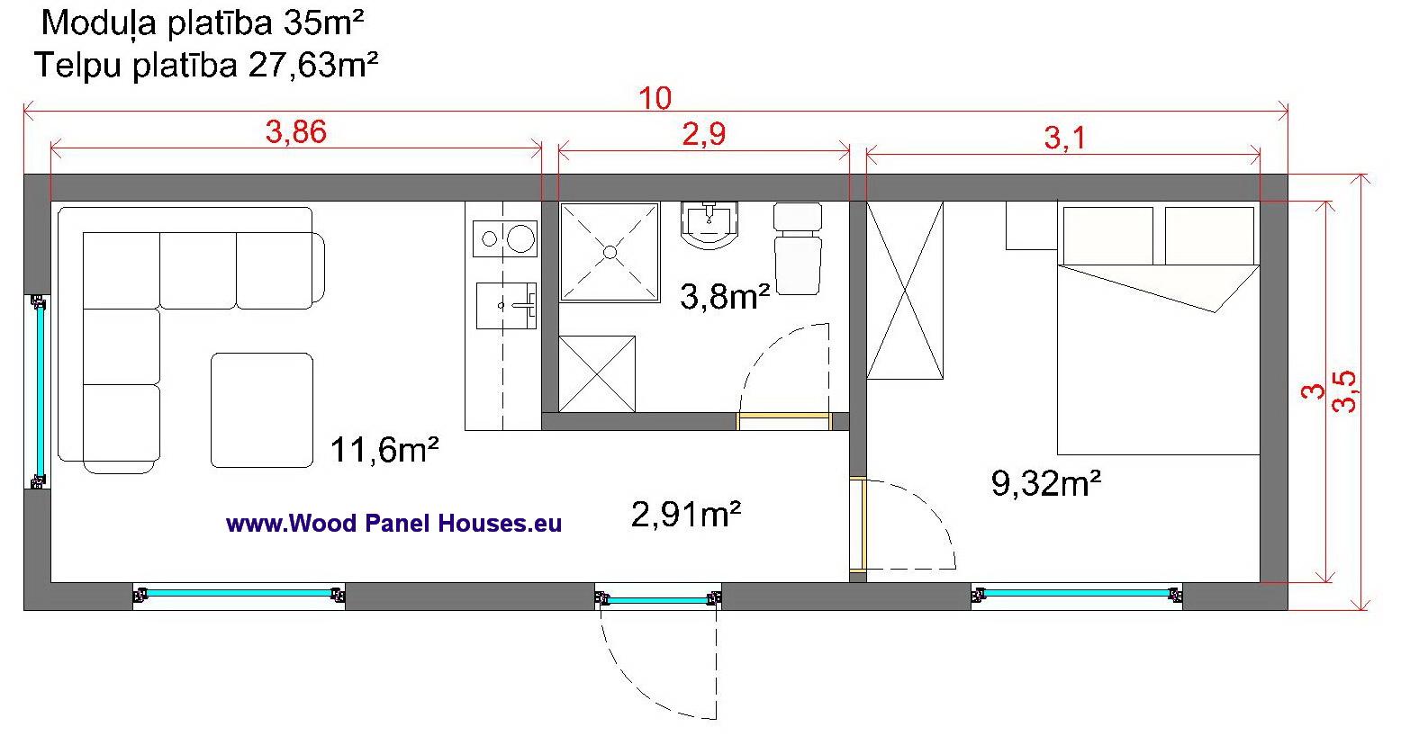 price of modular houses