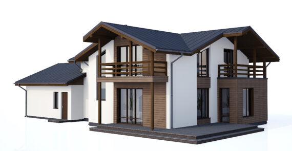 2 stāvu māja