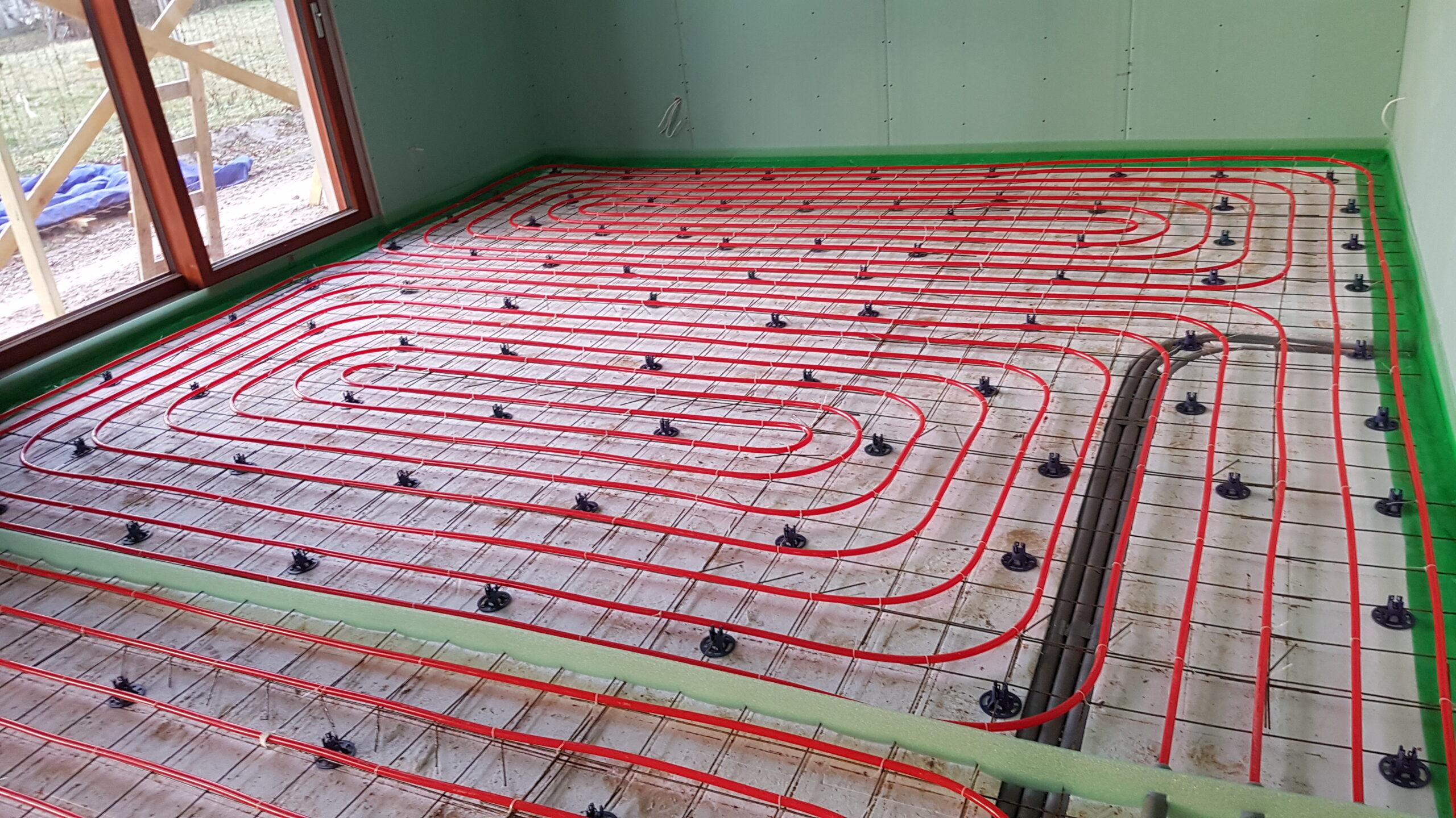 apsildāmās betona grīdas