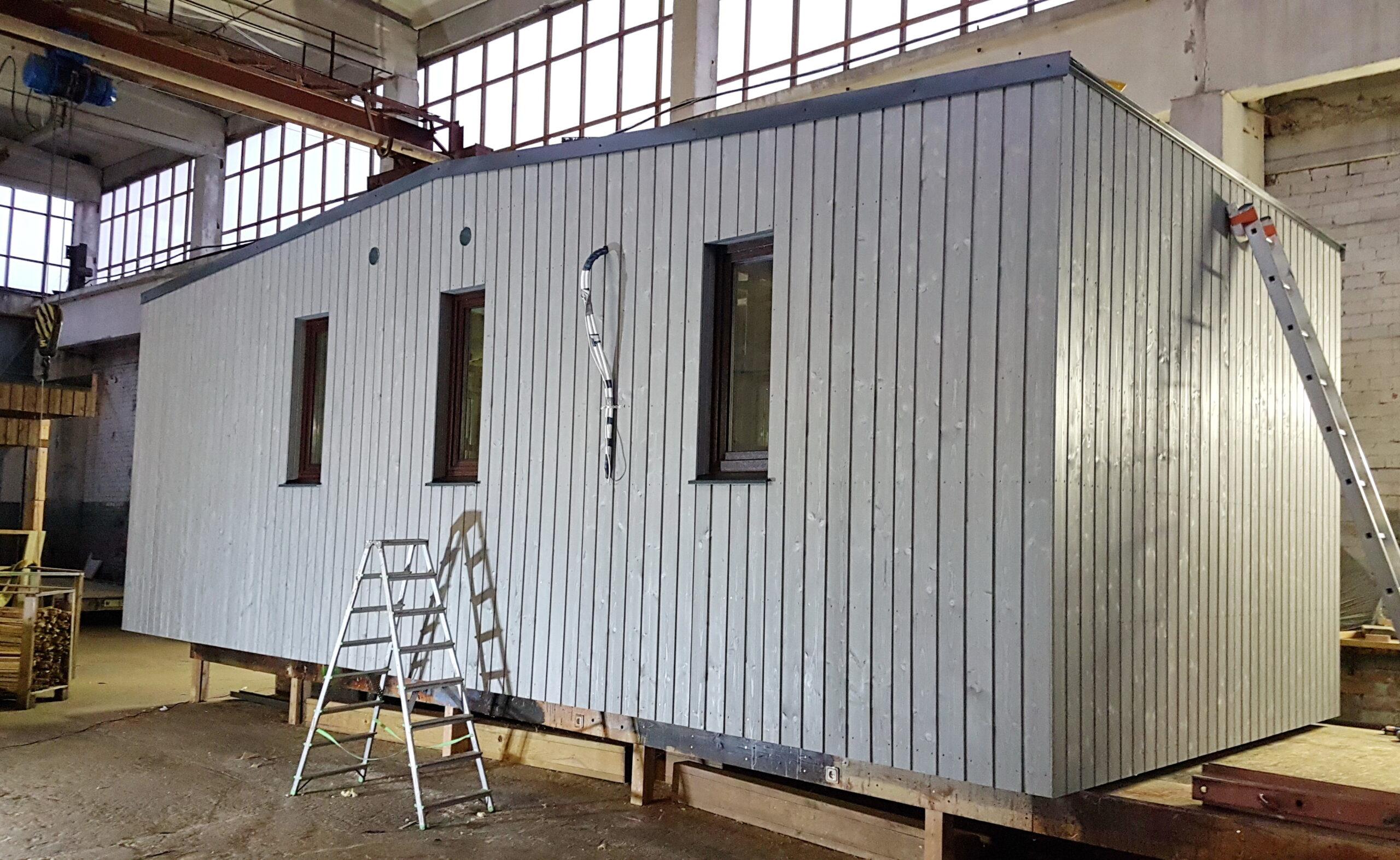 moduļu mājas