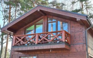 koka karkasu paneļu mājas
