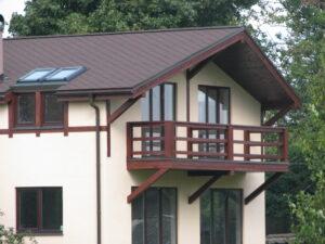 māju būvniecība