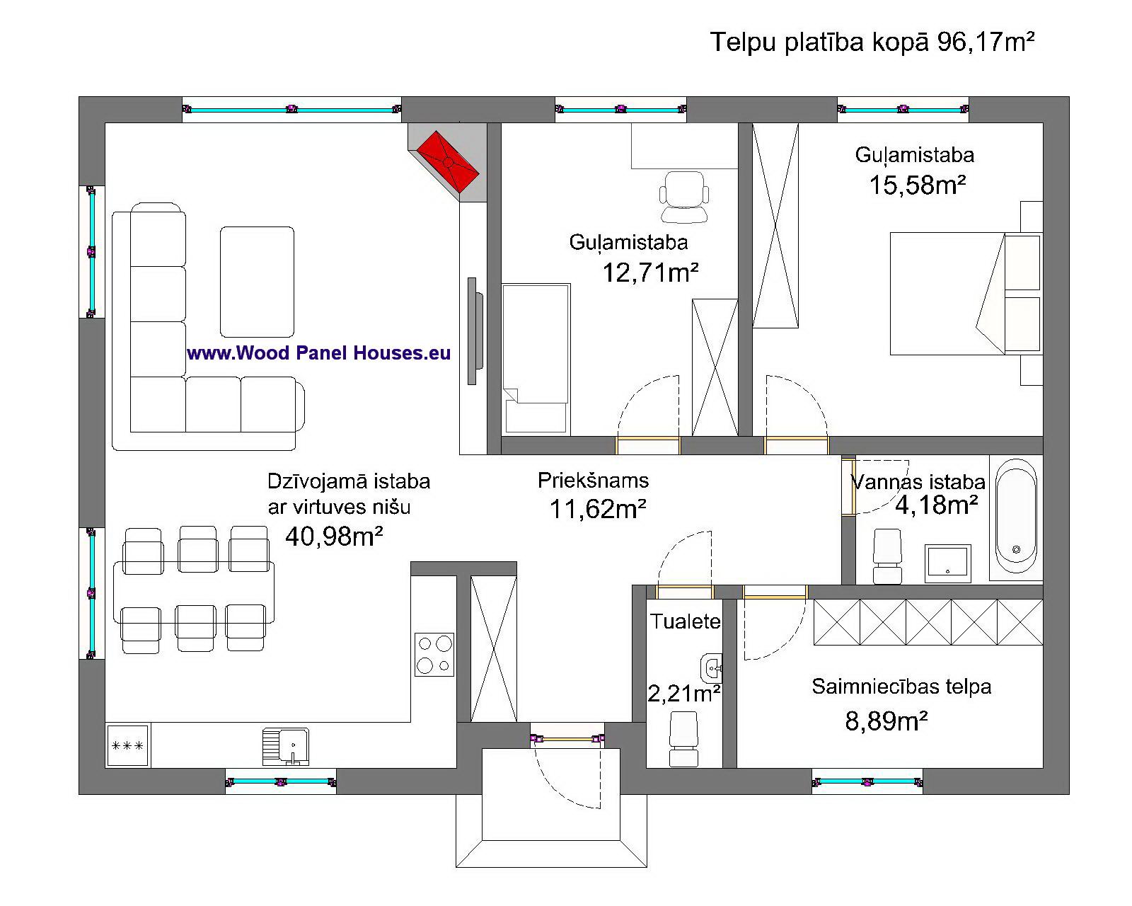 mājas plāns