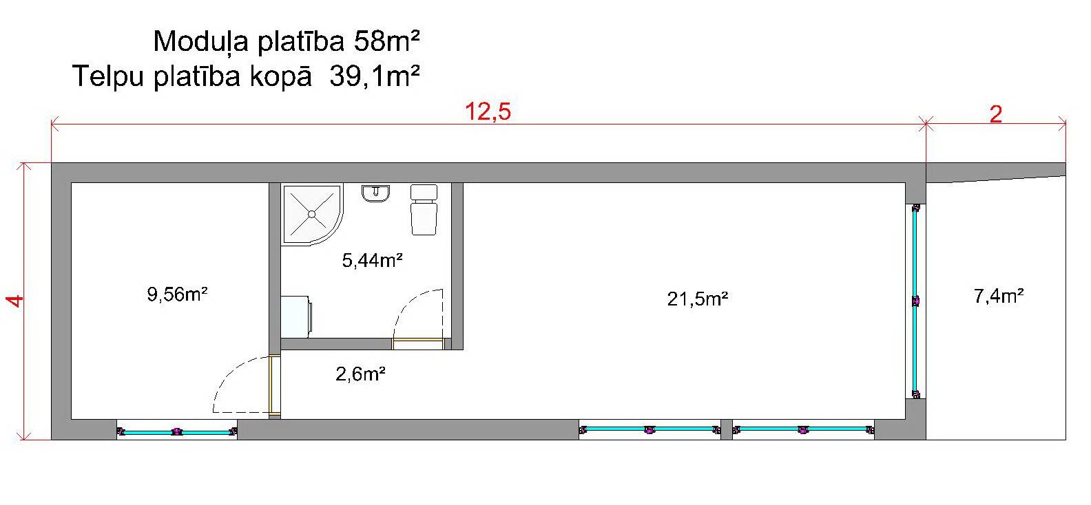 modular houses planing