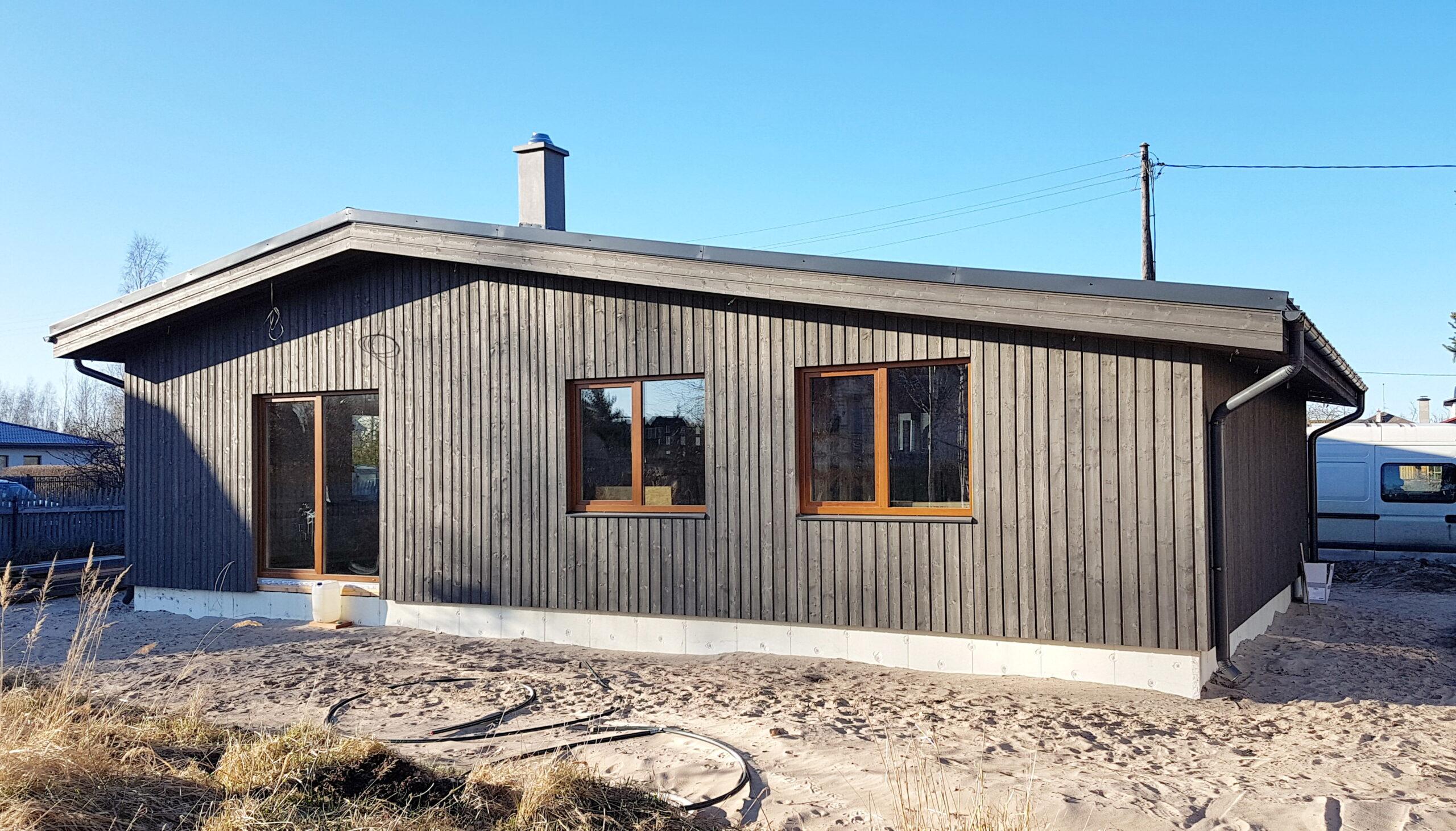 modular wooden panel houses