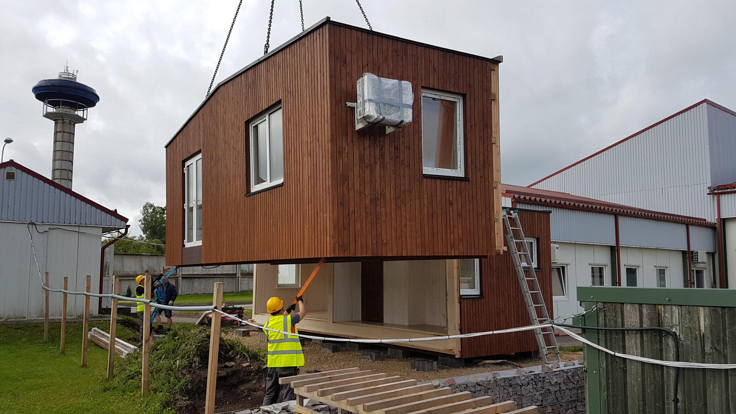 production modular houses