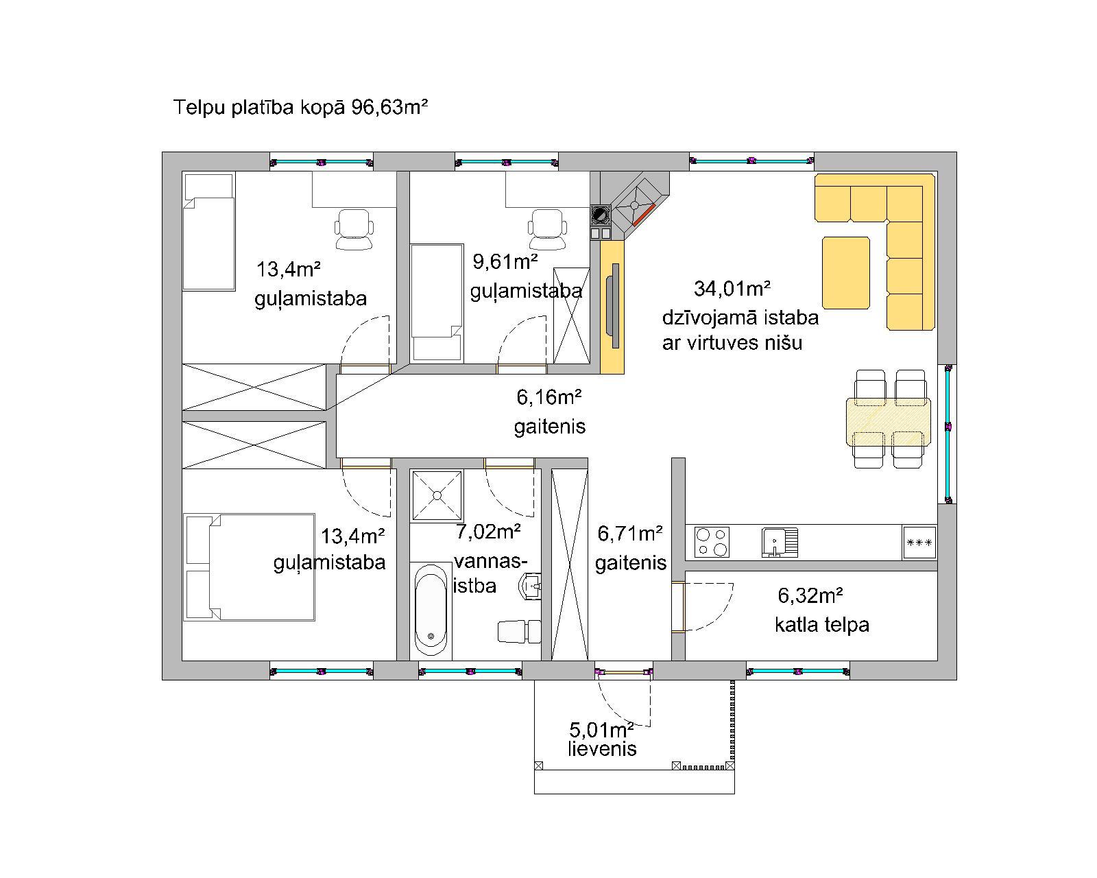 модульные деревянные каркасные дома